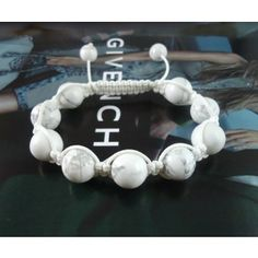 Delicate Turquoise Bead Ball Shamballa Bracelets for Unisex