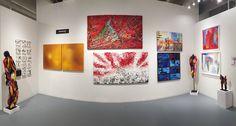 #StudioAbba Gallery Miami c/o ArtFusionGalleries Wynwood Art District: Agneta Gynning, Marybel Gallegos, Nam Hong, Edward Rilke, Karl Stengel