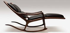 recliner / Sam Maloof / wood yeah