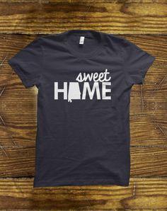 Sweet Home Alabama T-Shirt on BourbonandBoots.com #alabama #alabamatshirt #tshirt