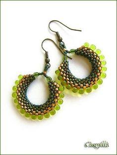 Beaded Earrings Patterns, Beaded Jewelry Designs, Seed Bead Jewelry, Seed Bead Earrings, Jewelry Patterns, Beaded Rings, Beaded Necklace, Beaded Bracelets, Earrings Handmade