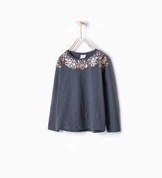 ZARA - KIDS - Floral T-shirt