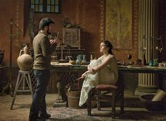 Rachel Weiz en el papel de Hypatia de alejandria en Agora