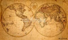 Vintage looking old world map poster photo perfect wall art pictures descargue la foto libre de derechos old map 1799 creada por tryfonov al precio gumiabroncs Image collections