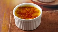 Turn everyday ingredients like eggs, whipping cream and sugar into a classic custard with make-ahead qualities.