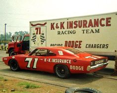 1969 Bobby Isaac K&K Dodge Maintenance/restoration of old/vintage vehicles… Nascar Autos, Nascar Race Cars, Old Race Cars, Us Cars, Vw Bus, Volkswagen, Auto Union 1000, Wiking Autos, Real Racing