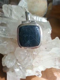 Beautiful Pietersite Pendant Rare Stone Sterling by TamayaGifts