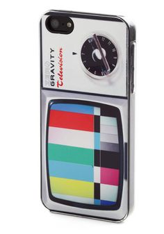 Vintage TV set iPhone 5 case, colorful and unusual  #ModCloth