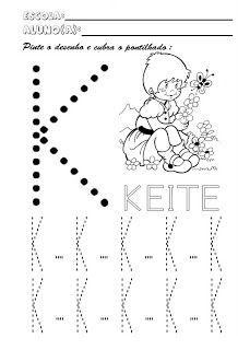 Referencias Para Educacao Infantil Alfabeto Pontilhado