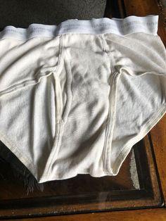 b7073974ab2 Mens Vintage Hanes Briefs White Medium Size 36 Previously Worn. Previously  Worn.  fashion