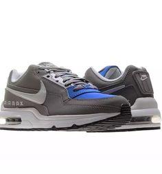 97f972ce66d NIKE AIR MAX LTD 3 SHOES (SIZE 13) MENS NEW 697977-224 GREY HYPER COBALT  BLUE  Nike  AthleticSneakers