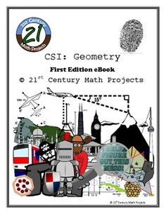 Need to review some content before finals? Add some pizzazz! CSI: Geometry -- Complete eBook
