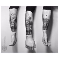 forest tattoo - Google Search More