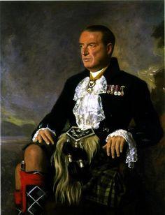 Portrait of Ian Douglas, 11 th Duke of Argyll (1903 - 1973) by Cowan Dobson (Scottish 1894–1980)