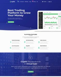 Cryptic - Cryptocurrency WordPress Theme - ModelTheme Know Your Customer, Chief Financial Officer, Blockchain, Cryptocurrency, Wordpress Theme, Platform, Heel, Wedge, Heels