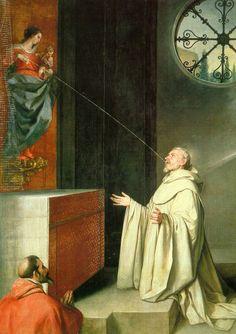 Miraculous Lactation of St Bernard Alonso Cano 1650  Madrid, Museo del Prado