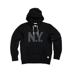 REIGNING CHAMP X EVERLAST PULLOVER HOODIE - BLACK | Reigning Champ