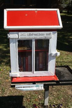 Wedgewood Couple Opens DIY Library In Their Front Yard - Fort Worth Weekly Little Free Libraries popping up everywhere!