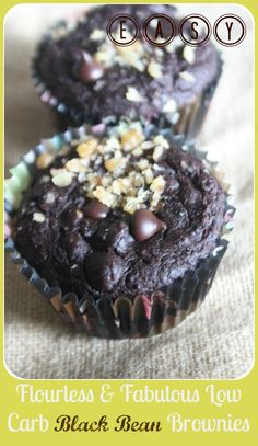 Blow Your Mind Black Bean Brownies -- mmmmm, perfect splurge for Phase 3!