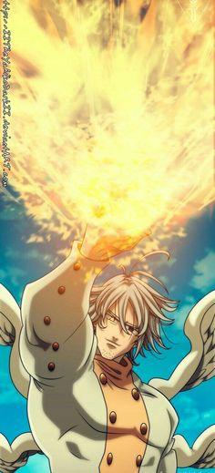 Meliodas vs Escanor - Estilo Anime by on DeviantArt Anime Boys, Manga Anime, Anime Art, Seven Deadly Sins Anime, 7 Deadly Sins, Meliodas Vs, Kimi No Na Wa, Naruto Cute, Anime Guys