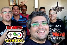 ENCONTRO GAMES & GAMERS  -  NERD RETRÔ -  PLAYER OFF