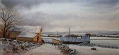 Geoff Kersey - A Winter Landscape