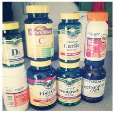 PCOS supplements - I would also add cinnamon, spirulina, chlorella, maca, aloe, & apple cider vinegar daily.