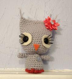 Owl Amigurumi by meddywv on Etsy, $15.00