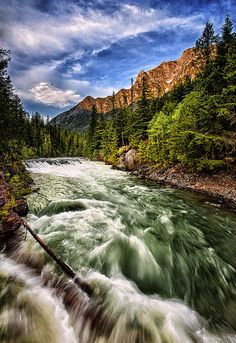 McDonald Creek, Glacier National Park, Montana, USA