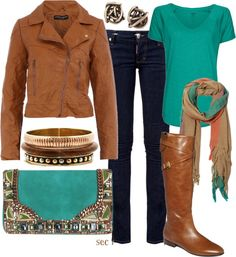 """""""Fall brown"""" by coombsie24 on Polyvore"""