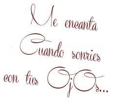 Esa #sonrisa me #encanta