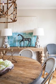 Vintage Accents Bring Warmth, Color to Modern New York Apartment | Allison Lind | HGTV