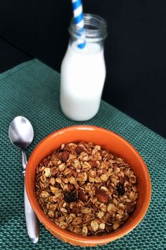 Simple Homemade Granola {with an extra nutritional kick} ~ you'll never go back to store-bought!