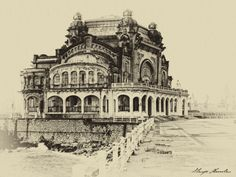 art nouveau Romania - Casino Constanta
