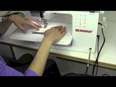 Bernina 350 07 Free Hand System (FHS) - YouTube