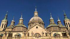 Basílica del Pilar Zaragoza España. #amazing #zaragoza #españa #spain #tourism #amor #love #cathedral #god #dios #wanderlust #iglesia #cultura #culture #travel #traveling #travelphotography #viaje #viajar