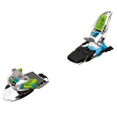Marker Squire 11 Ski Binding - Black/Green/Blue - 90mm by Volkl. $189.00. The Marker Squire Binding answers the call of the freeskier who loves pow, but will follow or lead friends anywhere they want to go. Lightweight, versatile, and energy-efficient, this is the binding that will keep them by your side.Product FeaturesMaterial: Brake Width: 90 mm, 110 mmDIN: 3 - 11Recommended Skier Weight: 65 - 240 lbsWeight: Recommended Use: Manufacturer Warranty: