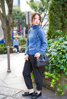 This is Nari, a stylish 21 year old we spotted on the street in Harajuku. You might remember some of her previous street snaps!She is wearing a Maison...