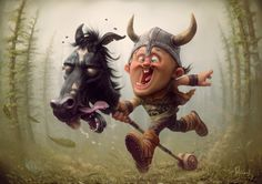 Best friends forever! by Tiago Hoisel | Cartoon | 2D | CGSociety