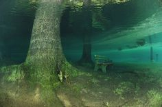 Green Lake — Tragoess, Austria