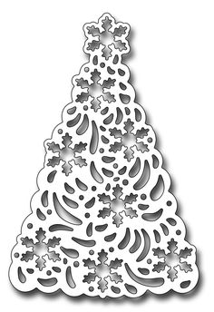 Frantic Stamper Precision Die - Snowflake Christmas Tree-Frantic Stamper Precision Die - Snowflake Christmas Tree The snowflake tree measures x The snowflakes that pop out of the tree when cut measure approx. Our Frantic Stamper Pr Christmas Tree Template, Christmas Tree Art, Christmas Paper Crafts, Christmas Ornaments, Diy And Crafts, Arts And Crafts, Tree Templates, Frantic Stamper, Scroll Saw Patterns