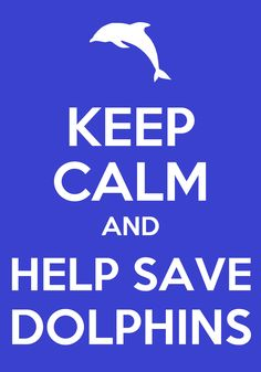 Help save dolphins!