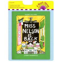 Carry Along Book & CD, Miss Nelson is Back, HOU9780547577180