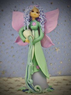 aquarius fairy by fairiesbynuria on Etsy, $45.50