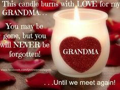 I love and miss my grandmothers! Lucia & Mary....RIP!