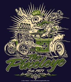 hamb jalopy journal hippy killer | One & All FRIDAY ART SHOW 2/25/11