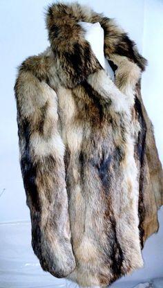 Betty Barclay Genuine Beige Wolf Fur Jacket Size 38 #BettyBarclay #BasicJacket #jacket #furcoat #eBay #Fashion
