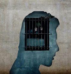 Mandela never let his mind die in prison. Banksy, Prison Art, Urbane Kunst, Arte Horror, Gcse Art, Street Art Graffiti, Land Art, Oeuvre D'art, Dark Fantasy