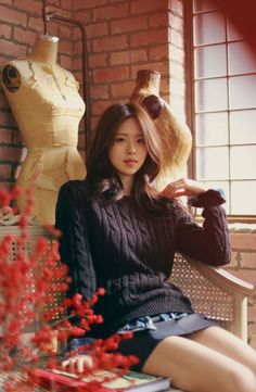 男イチコロファッションモデル Is A Milkcocoa Model. Pretty Asian Girl, Asian Cute, Cute Asian Girls, Beautiful Asian Women, Yoon Sun Young, Ulzzang Girl, Asian Fashion, Sexy Legs, Asian Woman