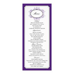 ==>>Big Save on          Delicate Dream Wedding Menu Purple Personalized Invitation           Delicate Dream Wedding Menu Purple Personalized Invitation lowest price for you. In addition you can compare price with another store and read helpful reviews. BuyDiscount Deals          Delicate D...Cleck Hot Deals >>> http://www.zazzle.com/delicate_dream_wedding_menu_purple_invitation-161676681992163882?rf=238627982471231924&zbar=1&tc=terrest